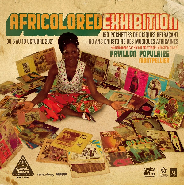 africolored exhibition . Africa Montpellier festival. Pavillon Populaire